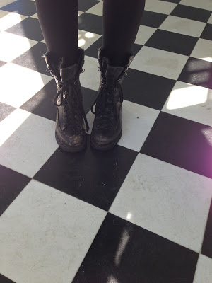 Girl's Got Her Combat Boots On
